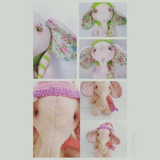 Куклы тыквоголовки ручной работы. Ярмарка Мастеров - ручная работа. Купить Слоня. Handmade. Бежевый, слоник, слоник в подарок, синтепон