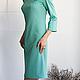 Платья ручной работы. Платье Sole gelido. Strygina (Strygina). Ярмарка Мастеров. Платье с вышивкой, авторское платье, платье для офиса