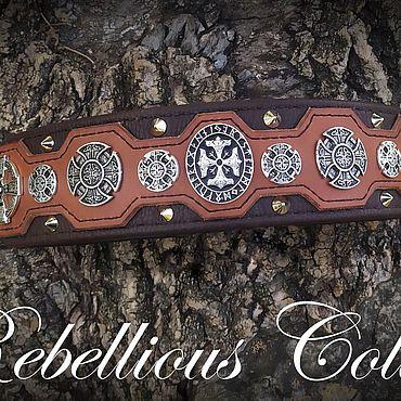 Для домашних животных, ручной работы. Ярмарка Мастеров - ручная работа Ошейник кельтский страж. Handmade.