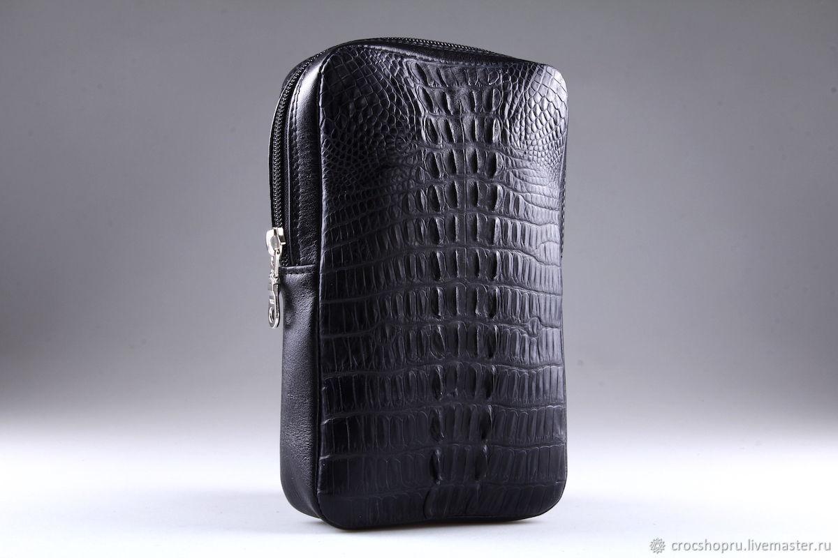 Shoulder bag made of crocodile leather IMA0686B3, Classic Bag, Moscow,  Фото №1