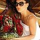 """Женские сумки ручной работы. Ярмарка Мастеров - ручная работа. Купить """"фламенко"""" войлочная сумка. Handmade. Абстрактный, сумка-мешок"""