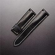handmade. Livemaster - original item Calf leather watchband. Handmade.