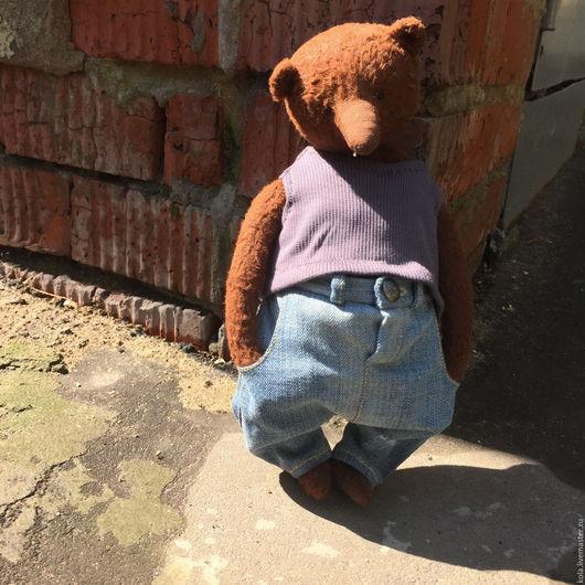 Мишки Тедди ручной работы. Ярмарка Мастеров - ручная работа. Купить Вано. Handmade. Коричневый, мишка в подарок, мишка игрушка