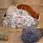 Для дома и интерьера ручной работы. Ярмарка Мастеров - ручная работа Короб-корзина для хранения. Handmade.