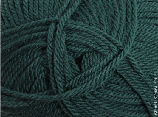 """Вязание ручной работы. Ярмарка Мастеров - ручная работа. Купить Пряжа для вязания шерсть """"Сосна"""", 100 g. Handmade."""
