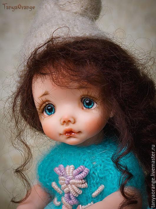Коллекционные куклы ручной работы. Ярмарка Мастеров - ручная работа. Купить Дейзи. Handmade. Малышка, ручная работа, девочка, пастель