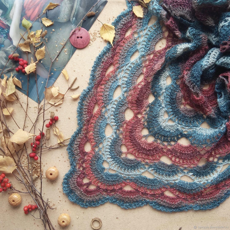 Knit a delicate shawl Aria 3, Shawls, Naberezhnye Chelny,  Фото №1