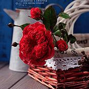 Цветы и флористика handmade. Livemaster - original item Interior sprig of rose Austin`s