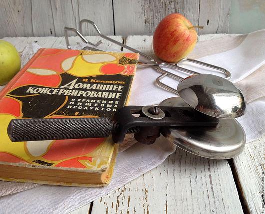 Винтажная посуда. Ярмарка Мастеров - ручная работа. Купить Закаточная машинка. Handmade. Темно-серый, винтаж