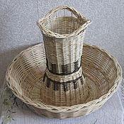 Candy Dishes handmade. Livemaster - original item Fruit bowl braided