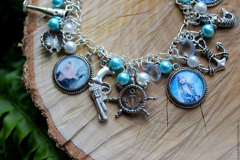 Bracelet Pirates Of The Caribbean Sea Johnny Depp