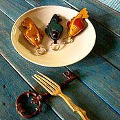 Аксессуары handmade. Livemaster - original item keychain - FISH DAY. Handmade.