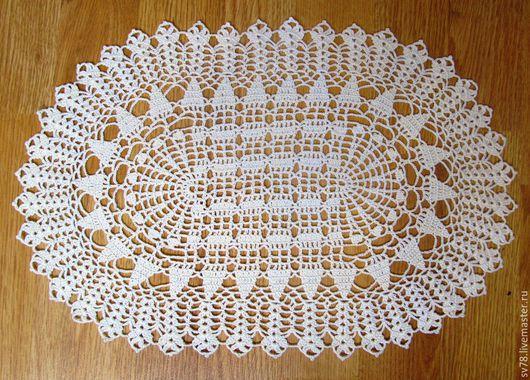Текстиль, ковры ручной работы. Ярмарка Мастеров - ручная работа. Купить Салфетка № 68. Handmade. Ажурная салфетка