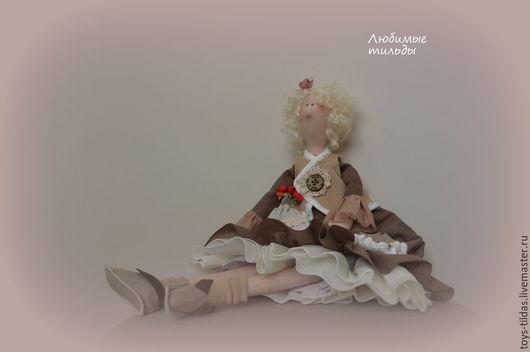 Куклы Тильды ручной работы. Ярмарка Мастеров - ручная работа. Купить Бохо. Тильда в стиле бохо. Handmade. Коричневый, тильда