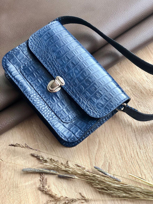 Сумка кросс-боди из натуральной кожи, Классическая сумка, Иркутск,  Фото №1