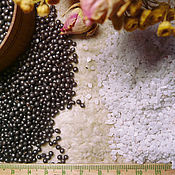 Материалы для творчества ручной работы. Ярмарка Мастеров - ручная работа Металлический гранулят минеральный гранулят утяжелитель для игрушек. Handmade.