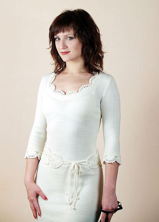 Платья ручной работы. Ярмарка Мастеров - ручная работа. Купить Платье вязаное 6375. Handmade. Платье, летнее платье