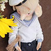 Куклы и игрушки ручной работы. Ярмарка Мастеров - ручная работа мышь Вильям. Handmade.