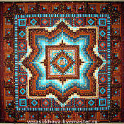 Для дома и интерьера handmade. Livemaster - original item Patchwork mirror, MIRROR bedspread patchwork. Handmade.