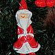 Новый год 2017 ручной работы. Заказать Санта-Клаус. Елочные игрушки из папье-маше. Родионова Светлана. Ярмарка Мастеров.