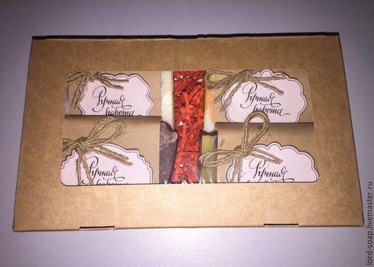 Подарочные наборы косметики ручной работы. Ярмарка Мастеров - ручная работа. Купить Подарочный набор №4. Handmade. Комбинированный