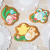 Сувениры и подарки handmade. Livemaster - original item Set of Easter cakes with cyplenka. Handmade.