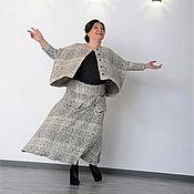 Одежда handmade. Livemaster - original item Suit: jacket and skirt