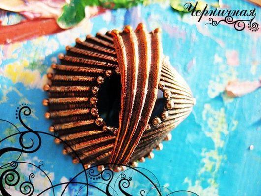 Для украшений ручной работы. Ярмарка Мастеров - ручная работа. Купить Замок-тоггл. Море 0614-300 (1). Handmade.