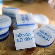 Мыло ручной работы. Ярмарка Мастеров - ручная работа Мыло-визитка с вашим логотипом. Handmade.