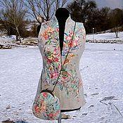 Одежда ручной работы. Ярмарка Мастеров - ручная работа Жилет Азалия-войлок. Handmade.