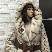 Одежда ручной работы. Ярмарка Мастеров - ручная работа Шуба норковая Снегурочка. Handmade.