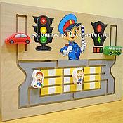 """Куклы и игрушки handmade. Livemaster - original item Обучающая Световая Панель """"Светофор-ПДД"""". Handmade."""