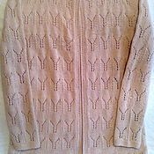 Одежда handmade. Livemaster - original item Women`s knitted jacket. Handmade.