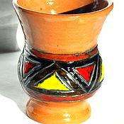 """Посуда ручной работы. Ярмарка Мастеров - ручная работа Калабас - поронго """"Лас лагримос фаворито"""". Handmade."""