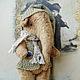 Мишки Тедди ручной работы. Ярмарка Мастеров - ручная работа. Купить СЛОНОПОТАМ. Handmade. Бежевый, оригинальный подарок, тедди слоник