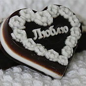 Мыло ручной работы. Ярмарка Мастеров - ручная работа Шоколадное мыло. Handmade.