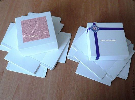 оригинальная упаковка для подарка, коробка для украшений, белая коробка с тиснением, упаковка доя косметики, упаковка для мыла, оригинальная коробочка
