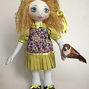 Куклы и игрушки ручной работы. Ярмарка Мастеров - ручная работа Текстильная куколка Соня. Handmade.
