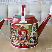 Цветы и флористика ручной работы. Ярмарка Мастеров - ручная работа Безумное чаепитие, лейка. Handmade.