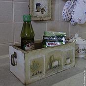 """Для дома и интерьера ручной работы. Ярмарка Мастеров - ручная работа короб """"  италия"""". Handmade."""