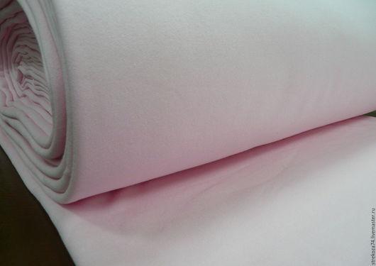 """Шитье ручной работы. Ярмарка Мастеров - ручная работа. Купить Футер  """"Розовый"""" 2-х нитка с начесом. Handmade. футер"""