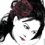 Украшения handmade. Livemaster - original item The colors of the skin. Decoration in her hair a headband CHERRY.. Handmade.