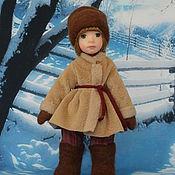 Куклы и игрушки ручной работы. Ярмарка Мастеров - ручная работа Кукла из полимерной глины Демушка. Handmade.