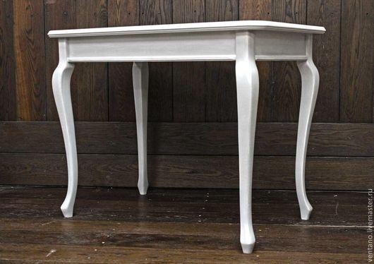 Мебель ручной работы. Ярмарка Мастеров - ручная работа. Купить Стол письменный Классик. Handmade. Серый, стол, запад, уют