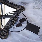 Украшения handmade. Livemaster - original item Jewelry set Geometry. Handmade.