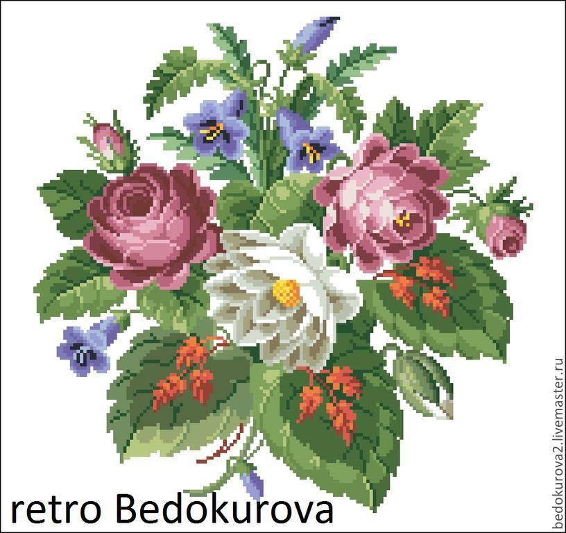 РЕТРО схемы Ирина Бедокурова.