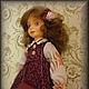 Коллекционные куклы ручной работы. Анюта. Авторская кукла.. Лидия Kalambet. Интернет-магазин Ярмарка Мастеров. Кукла ручной работы