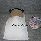 Куклы и игрушки ручной работы. Ярмарка Мастеров - ручная работа Sweetheart Doll ( Милая кукла) с постелькой. Handmade.