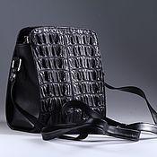 Сумки и аксессуары handmade. Livemaster - original item Bag shoulder crocodile leather IMA0758B22. Handmade.
