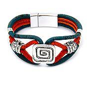Украшения handmade. Livemaster - original item Eco bracelet wooden color with spiral handmade B0142tudo. Handmade.